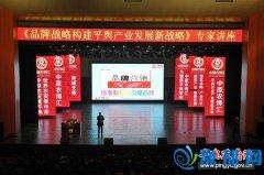 平舆县举办《品牌战略构建平舆产业发展新战略》专家讲座