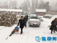 卢氏全县风雪急:贫困群众是不是住的暖吃的好?
