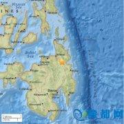 菲律宾发生里氏5.2级地震 震源深度10千米