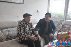 平舆县委副书记朱雪河深入基层进行新春慰问