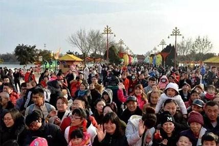 """2017大宋上元灯会主会场龙亭景区""""引爆""""春节!"""