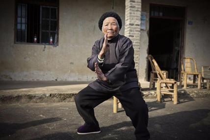94岁功夫奶奶4岁起习武 曾单挑恶霸