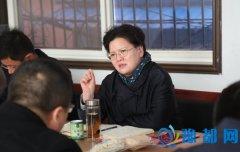 县长张颖波在汴岗镇召开蔬菜产业发展座谈会