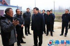 省民政厅厅长鲍常勇到虞城县调研脱贫攻坚工作