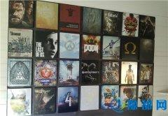 艺术气息爆棚!男子用28个特别版游戏铁盒拼成艺术墙
