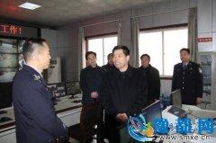 卢氏县委书记王清华一行到县公安局进行节日慰问