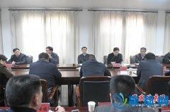 县委书记张怀德主持召开春季植树造林促进会