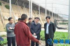 省财政厅调研组到西华县调研扶贫攻坚工作