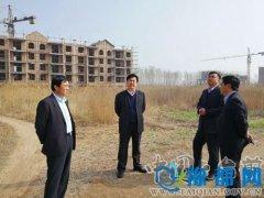 县长王俊海调研项目建设工作