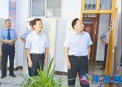 记奋进中的新蔡县人民检察院