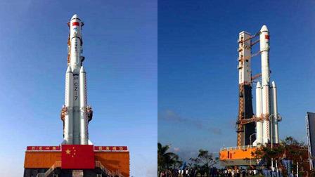 """""""天舟一号""""发射准备就绪 中国首艘货运飞船"""