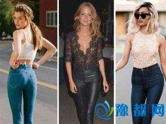达人服装流行趋势示范 蕾丝+紧身裤性感撩人