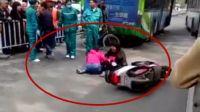 河南一公交车与电动车刮擦 9岁女童遭碾压致死