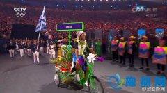 里约奥运小三轮仅有十几辆 蹬完回去马上换牌