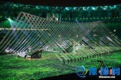 奥运开幕式展示神秘壮美巴西风情 观众共舞狂欢