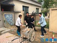 """汇丰社区 积极行动开展""""双迎攻坚""""工作标题"""