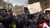 """突然部署萨德 韩民众接受不了:完全像是""""中了暗箭"""""""