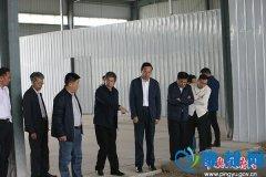 平舆县长赵峰深入县产业集聚区开展调研