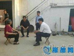 县长王俊海到联系帮扶村调研指导脱贫工作