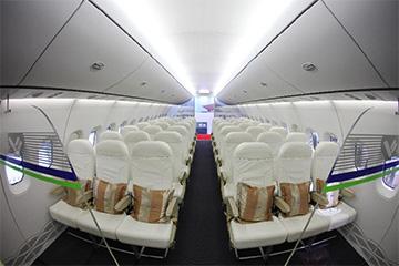 国产大飞机C919明日首飞 内部照片公布