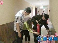 汤阴县韩庄镇安监办联合多部门开展消防安全隐患检查
