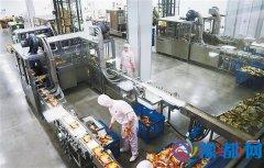 今麦郎一期生产线投产