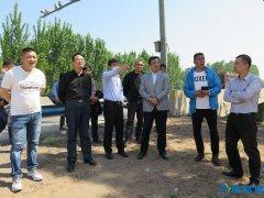 原红波副市长督导我市公路绿色廊道绿化提升工程建设
