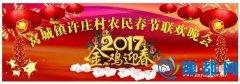 窝城镇许庄村积极举办2017年春节联欢晚会(图)
