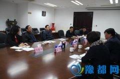 省教育厅厅长朱清孟会见民进河南省委一行