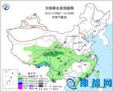 海南岛等地有较强降雨 西藏青海等地有雨雪过程