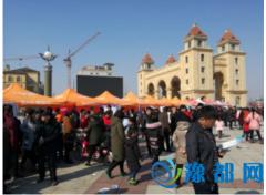 """原阳县举办2017年""""春风行动暨就业援助""""招聘会"""