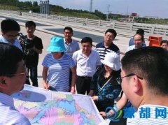 国家环保部国家重点湖库专项督导组莅临淅川