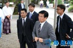 日千叶县知事和自民党总裁特别助理参拜靖国神社