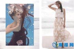 唯美的水中婚纱照图片 给你留下最浪漫的记忆