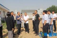 王付举调研人民路西延绿化工程沿路企业拆迁工作