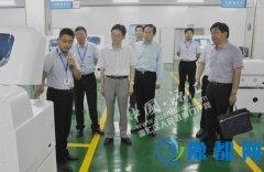 市卫计委主任吴书清深入曙光健士集团调研产业转型升级工作