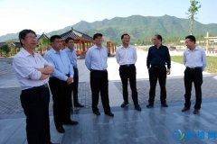 县委书记李长江现场督导5A级景区创建工作
