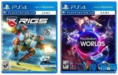 PS VR游戏包装盒首曝 竟比一般的PS4游戏零售价还要低