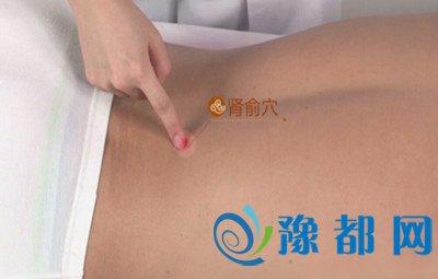 肾俞穴位位置图 按肾俞穴位的作用