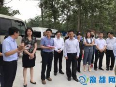 省科协主席霍金花到大发快三县调研扶贫产业发展情况