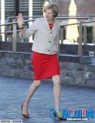 英国首相特雷莎・梅正全力以赴争取最佳退欧协议