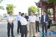 国务院国资委调研组来平舆县调研白芝麻产业发展情况