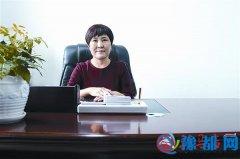 访驻马店市妇联主席刘翠萍