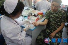 驿城区消防大队组织官兵义务献血