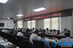 平舆县召开2017年1―5月份全县经济运行分析会