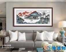 客厅适合挂什么画 充满灵性的交互艺术