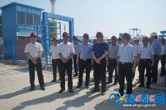平舆县举行中国车舆文化园工程项目观摩活动