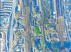 郑北大桥主塔第一根桩基开钻 将成郑州地标建筑