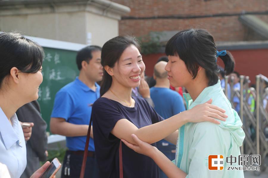刘冬丽老师给她的学生加油打气
