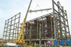 """汝南县产业聚集区""""建设绿色环境、服务社会大众"""""""